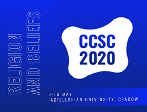 "Cracow Cognitive Science Conference 2020 - ""Religion and Beliefs"""