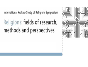 Religions: Fields of Research, Methods and Perspectives I, 12-14 September 2012
