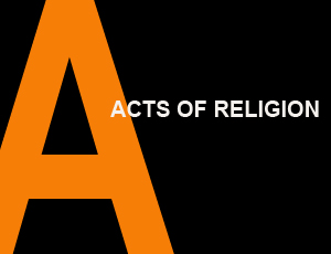 Acts of Religion. Parable, Prayer, Oath in Contemporary Philosophy
